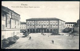 Viterbo, Um 1910, Piazza Della Rocca, Zeffirino Mattioli - Viterbo
