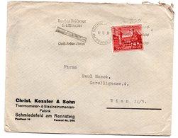 Deutschland, 1939, Briefkuvert Frankiert Mit Winterhilfswerk 12+6Pf., MiNr.735 (17467E) - Germany