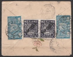 Russie - L. De MOSCOU Affr. 30000R Càd MOCKBA/11.4.1922 Pour La Bégude-de-Mazenc (Drôme) - 1857-1916 Empire