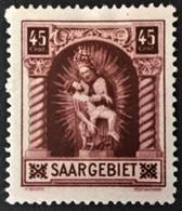 1925 Madonna  Mi. 102 *) - Neufs