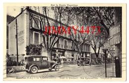 CPA - Vieilles Voitures Devant Le TOURING HOTEL En 1917 - SISTERON 04 Basses Alpes - Edit. Vial , Digne - Sisteron