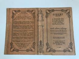 Protege Livre - GIBERT Librairie - PARIS Bd St Michel - Vloeipapier