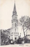 BERG19- BERGERAC  EN DORDOGNE L'EGLISE CHARETTES MARCHE - Bergerac