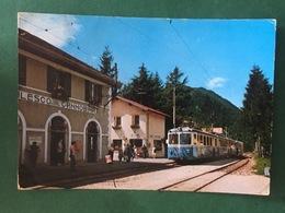 Cartolina Valle Vigezzo - Maleso - Stazione Ferroviaria - 1970 - Verbania