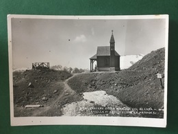 Cartolina Cratere Della Mina Col Lana - Cappella Ai Caduti  - 1942 - Trento