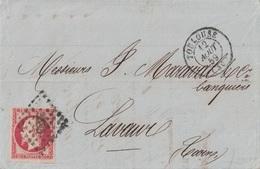HAUTE GARONNE - TOULOUSE - EMPIRE - N°17A OBLITERATION PC - ENTETE CAISSE INDUSTRIELLE DARNAUD & CIE - AVEC TEXTE ET SIG - Marcophilie (Lettres)