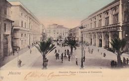 619 Messina Municipio Plazzia E Camera Di Commercio - Italia