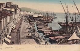 619 Messina Corsio Vittorio Emanuele Con Vista Della Marina - Italia