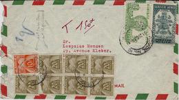 1949- Enveloppe Du MEXIQUE  TAXEE 150 F - Marcofilia (sobres)
