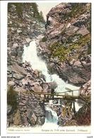 Vers 1905 - ZERMATT 7248 - Suisse - Passerelle Gorges Du Trift - VS Valais