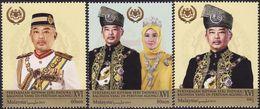 Malaysia 2019-9 Coronation Of Yang Di-Pertuan Agong MNH Royalty Unusual (gold Ink Printing) - Malaysia (1964-...)