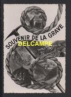 DD / 05 HAUTES ALPES / LA GRAVE / SOUVENIR DE LA GRAVE / VUE GENERALE ... PIOLET ET CORDE D' ALPINISME - France