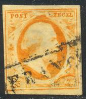 Pays-Bas 1852 Yvert 3 (o) B Oblitere(s) - Gebruikt