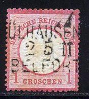 Allemagne Empire 1872 Yvert 16 (o) B Oblitere(s) - Deutschland