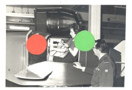 Armée Belge - Force Aérienne - Simulateur De Vol Présenté Lors De L'exposition  De Mars 1969 - Bierset ???  (b253) - Guerra, Militares