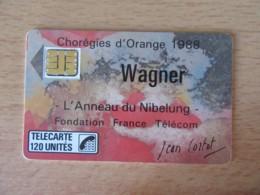 France - Télécarte Wagner F24A 120U - 150 000 Ex - 1988 - Utilisée - SC3 - TBE - Frankrijk