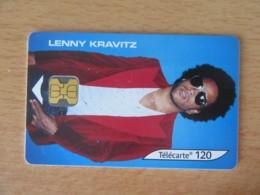 France - Télécarte Lenny Kravitz F1241 120U - Puce OB2 - 26 666 Ex - Utilisée - TBE - 2002