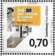 2018 Luxemburg Mi. 3162 **MNH   Europäisches Jahr Des Kulturerbes - 2018