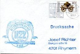 """(UB) BRD Umschlag Mit Cachet-Zudruck """"Unterseeboot """"U22-S171""""- SCHIFFSSTEMPEL"""" EF BRD  MWSt 20.11.1976 EMDEN - U-Boote"""