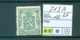 713A Xx   Côte 12.75€ - Belgium