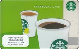 Thailand Starbucks Card AROMA 2012 - 6115 - Gift Cards