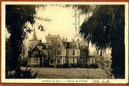 64   CPA D'ORTHEZ   Château De Préville   Joli Plan    1952      Bon état - Orthez