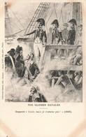 Bateau Nos Gloires Navales Duperré Coule Mais Je N' Amène Pas 1808 Voilier Guerre Marine Militaire Française - Guerra