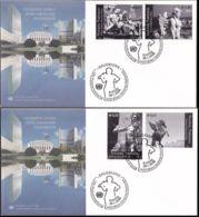 UNO WIEN 2008 Mi-Nr. 522/25 FDC - FDC
