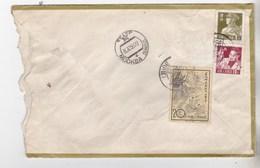 1958, China, Envelope, Stamp, - 1949 - ... République Populaire