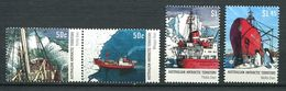 249 AUSTRALIE Territoire Antarctique (AAT) 2003 - Yvert 153/56 - Navire Manchot Avion  - Neuf ** (MNH) Sans Charniere - Unused Stamps