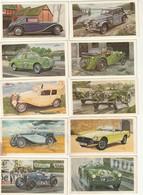 Rare Lot De 23 Images Sur 28 De Voitures De Sport De Marque MG Format 9 X 5 Cm Dessin De James Dugdable - Autres