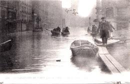 INONDATIONS - LA RUE DE LYON   Bb-946 - Inondations De 1910