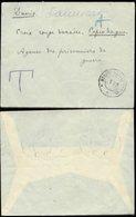 13368 Russland Kriegsgefangenen Post Brief Rotes Kreuz Nachgebühr Taxe - Kopenhagen 1915 , Ohne Inhalt. - Briefe U. Dokumente