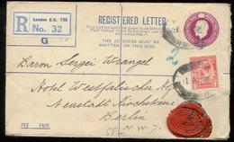 18966 England R - GS Brief + Marke Mit Perfin Lochung London  - Berlin 1926 , Bedarfserhaltung. - Grossbritannien