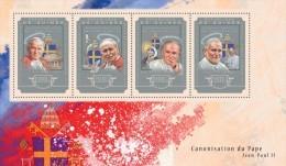 GUINEA 2014 - John Paul II, Mother Teresa - YT 7502-5; CV=25 € - Mother Teresa