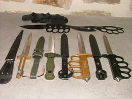 Lot De 6 Couteaux - Armes Blanches