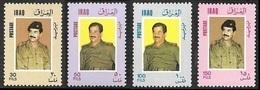 IRAQ  1986 -  Sadam Hussein -  NEUFS** - Iraq