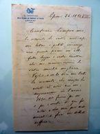 """Lettera Manoscritta """"IL DIRETTORE DELLA COLONIA DEI CONFINATI DI POLIZIA - LIPARI"""" 26 Dicembre 1929 - Manoscritti"""