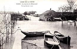 INONDATIONS -  LA BARRIERE DE BILLANCOURT    Bb-958 - Paris Flood, 1910
