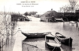INONDATIONS -  LA BARRIERE DE BILLANCOURT    Bb-958 - Inondations De 1910