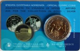 Greece, 2004, Olympic Games, 2 Euro In Coin Card - Grecia