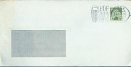 08875 BRD Brief Werbestempel  Bier Bayern Hof 1967 - Beers