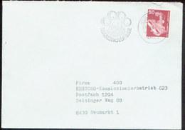 08877 BRD Brief Werbestempel  Bier Bayern Kulmbach 1981 - Biere