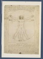 = Schéma De La Proportion Humaine Par Léonard De Vinci Carte Postale - Other Famous People