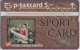 SUISSE - PHONE CARD - TAXCARD-PRIVÉE  *** SPORTCARD & GYM *** - Schweiz
