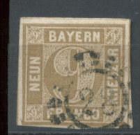 Bayern Nr. 11 Mühlradstempel 28 Augsburg - Bayern