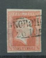 Preußen Nr. 1 Gestempelt Nordhausen 65 Euro Michel - Preussen
