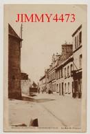 CPA - EQUEURDREVILLE Banlieue De CHERBOURG 50 Manche - La Rue De Belgique Bien Animée En 1921 - Edit. Lemesle - Cherbourg