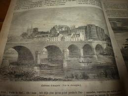 1882 JDV: Angers (coté Château) ; Chevaux Attaqués Par Des Loups;Aimé Olivier Dans Le Foutah-Djallon;Dépt Du TARN;etc - Kranten