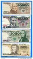 Pologne  8  Billets - Pologne